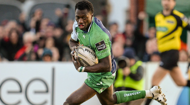 Niyi Adeolokun has been nominated for the April Player of the Month award. Photo: Seb Daly/Sportsfile