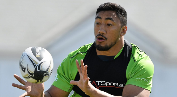 Bundee Aki picked up three gongs at the Connacht Rugby Awards Gala. Photo: David Maher/Sportsfile