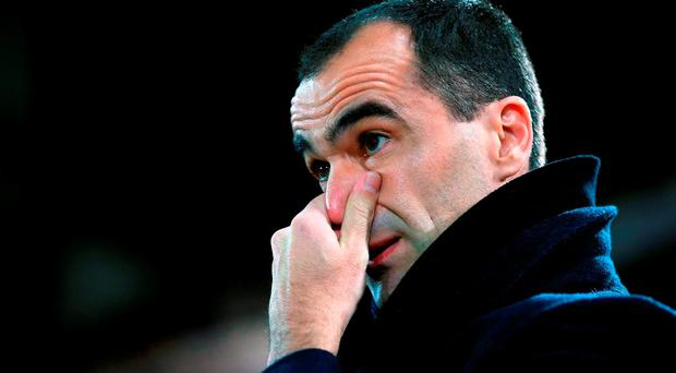 Roberto Martinez. Photo: PA