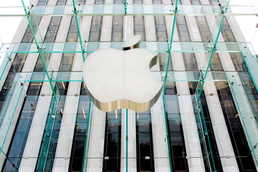 Apple typically launches its high-end phones in September. Photo: AFP/Getty Images