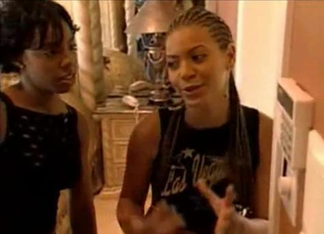 Beyonce in Destiny's Child's episode of MTV Cribs