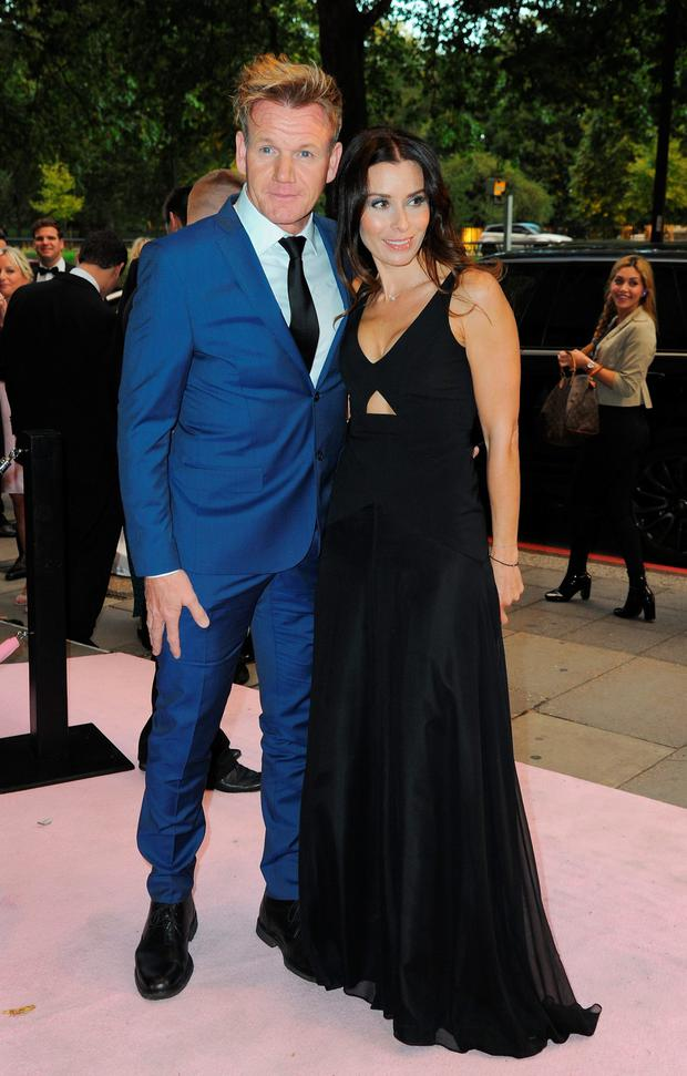 Gordon Ramsey and Wife, Tana Ramsey attend the Boodles Boxing Ball at The Grosvenor House Hotel on September 12, 2015 in London, England. (Photo by Eamonn M. McCormack/Getty Images)