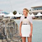 """Blake Lively makes it to shore for """"The Shallows"""" photocall during the 69th annual Cannes Film Festival at La Plage Majestic on May 13, 2016 in Cannes, France. (Photo by Clemens Bilan/Getty Images for Sony Pictures)"""