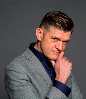 Brendan O'Connor, above, says he is a completely different person now to who he was when he began presenting 'The Saturday Night Show'. Photo: Kip Carroll.