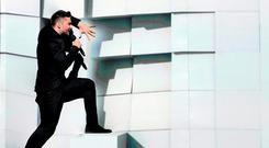 'Smart money says 'You Are The Only One', sung by hot hunk Sergey Lazarev, will be at the top of the voting table.' TT News Agency/Maja Suslin/via REUTERS
