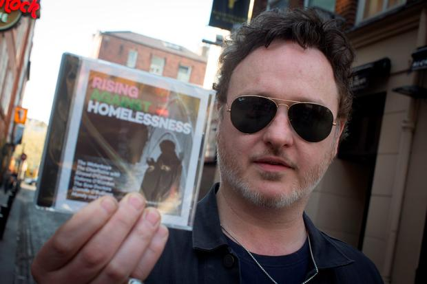 Mundy at the launch of the Rising Against Homelessness cd to raise money for homelessness in Ireland, at the Hard Rock Cafe in Temple Bar