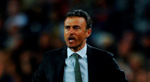 Head coach Luis Enrique of FC Barcelona. Photo: David Ramos/Getty Images