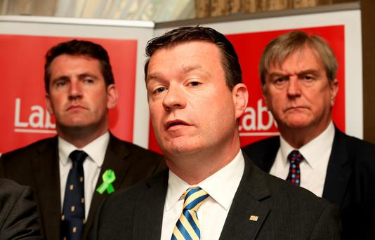 Alan Kelly has formally thrown his hat in to the ring for the Labour Party leadership. Photo: Tom Burke