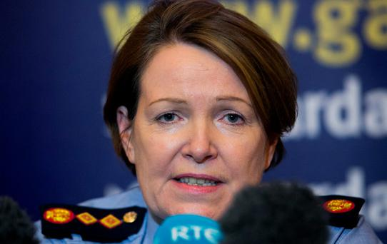 Garda Commissioner Nóirín O'Sullivan: conflicting positions. Photo: Gareth Chaney Collins