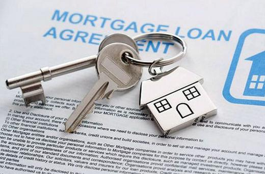 A typical standard variable rate mortgage customer here pays €2,500 more a year than their peers in the eurozone. Stock picture