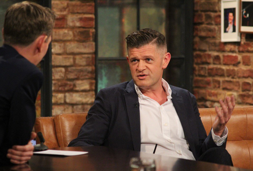 Brendan O'Connor on the Late Late Show