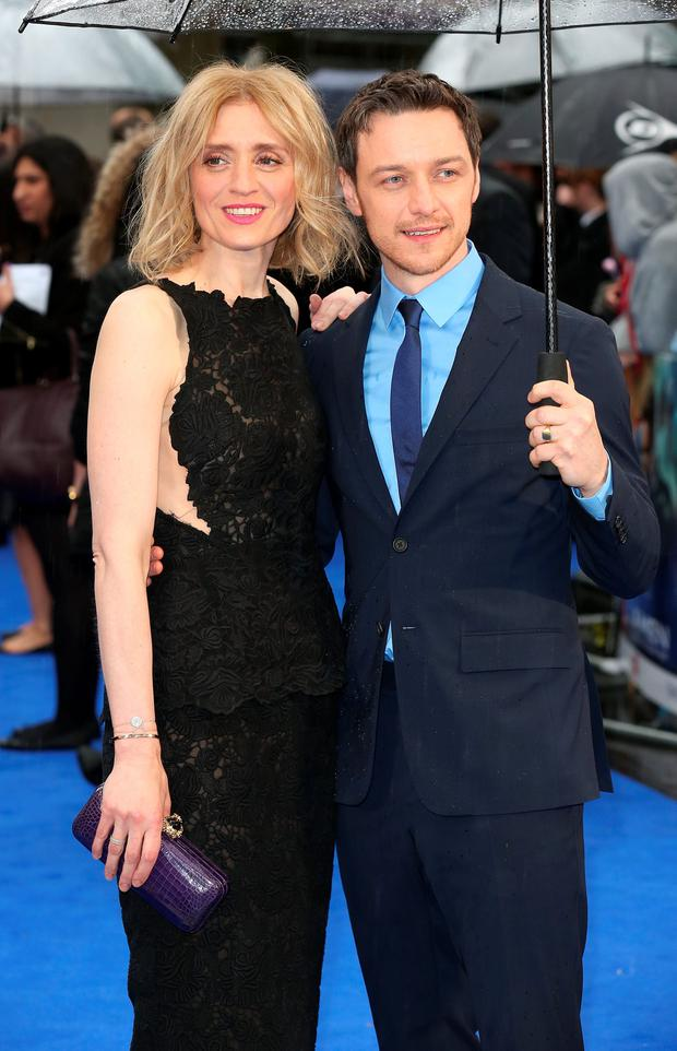 James McAvoy and Anne-Marie Duff attend the UK Premiere of