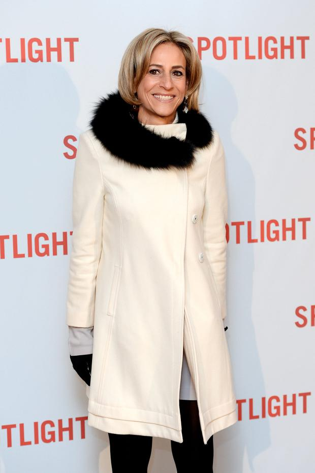 Emily Maitlis arrives for the UK Premiere of Spotlight at The Washington Mayfair on January 20, 2016 in London, England. (Photo by Jeff Spicer/Getty Images)