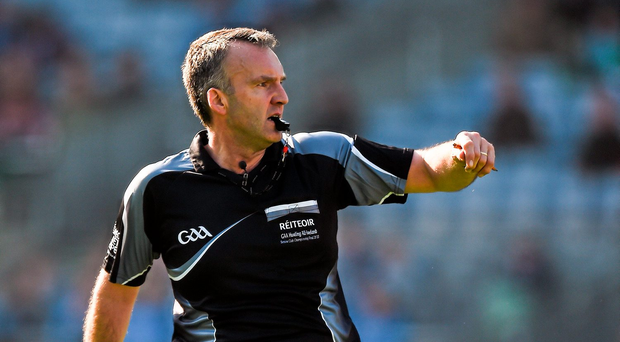 'On Monday morning John Mullane was calling for Diarmuid Kirwan (pictured) to hang up his whistle.' Photo: Sportsfile