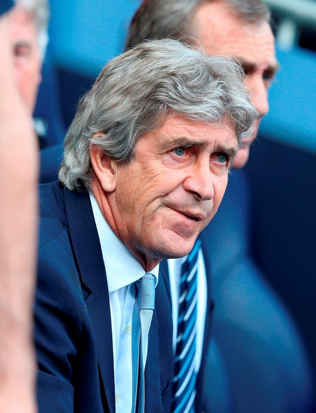 Manchester City boss Manuel Pellegrini struggles to find solutions if his team is struggling. Photo: Martin Rickett/PA