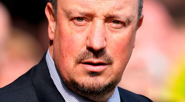 Rafa Benitez: 'There is a good chance I will stay, I still think this is a huge club with massive potential.' Photo: Chris Radburn/PA