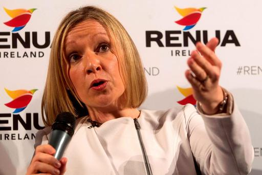 ELECTION HAMMERING: Lucinda Creighton has stepped down as leader of Renua Ireland