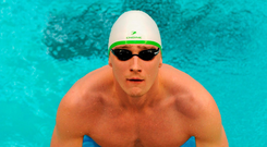 Shane Ryan's Olympic qualifying time ranks him 20th in the world at 100m, and he's seventh at 50m. Photo: Sportsfile