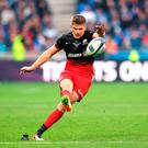 Saracens' Owen Farrell landed seven penalty kicks Photo: PA