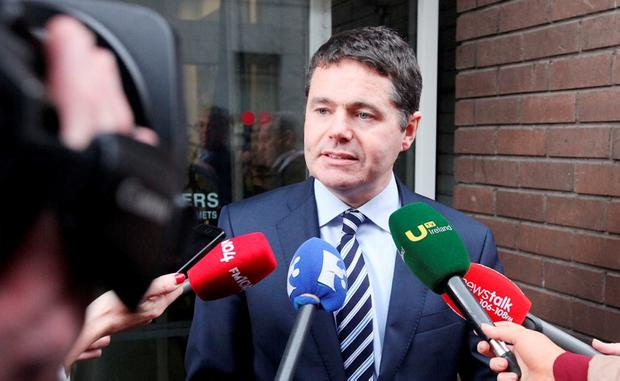 Newly appointed Minister for Public Expenditure and Reform Paschal Donohoe. Photo: Collins