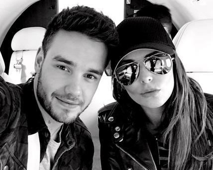 Cheryl and Liam Payne land in Cannes