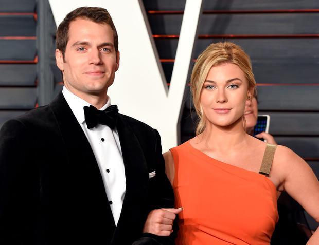 Henry Cavill and Tara King attend the 2016 Vanity Fair Oscar Party Hosted By Graydon Carter at Wallis Annenberg Center for the Performing Arts on February 28, 2016 in Beverly Hills, California. (Photo by Karwai Tang/WireImage)