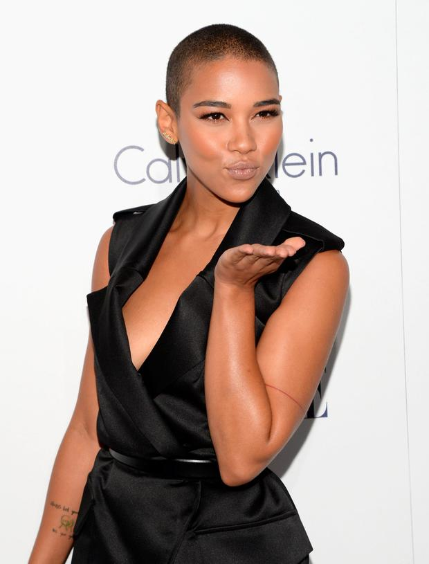 Actress Alexandra Shipp attends the 22nd Annual ELLE Women in Hollywood Awards at Four Seasons Hotel Los Angeles at Beverly Hills on October 19, 2015 in Los Angeles, California. (Photo by Michael Kovac/Getty Images for ELLE)