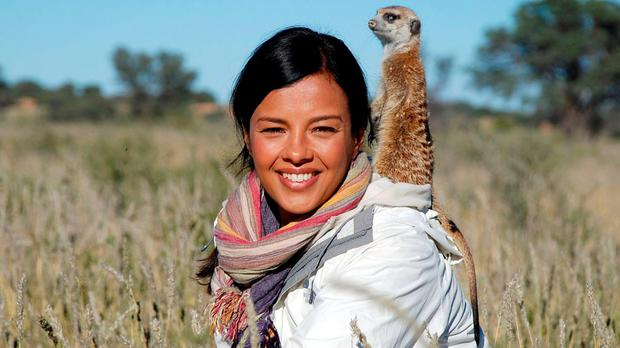 Liz Bonnin for BBC