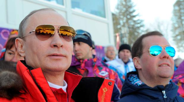 The latest whistleblower from inside Russian sport, Grigory Rodchenkov, has been labelled a turncoat but after the Sochi winter Olympics two years ago he received the Order of Friendship from President Putin Photo: AFP/Getty