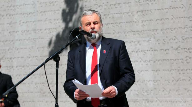 Siptu President Jack O'Connor has called for a 'new left party'. Photo: Gareth Chaney Collins