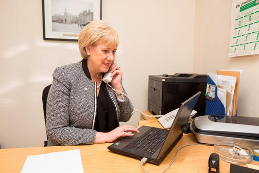 The pressure to reclaim lost ground for Fine Gael now falls to Heather Humphreys. Photo: Mark Condren