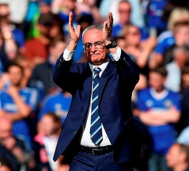 Leicester City manager Claudio Ranieri. Photo: Michael Regan/Getty Images