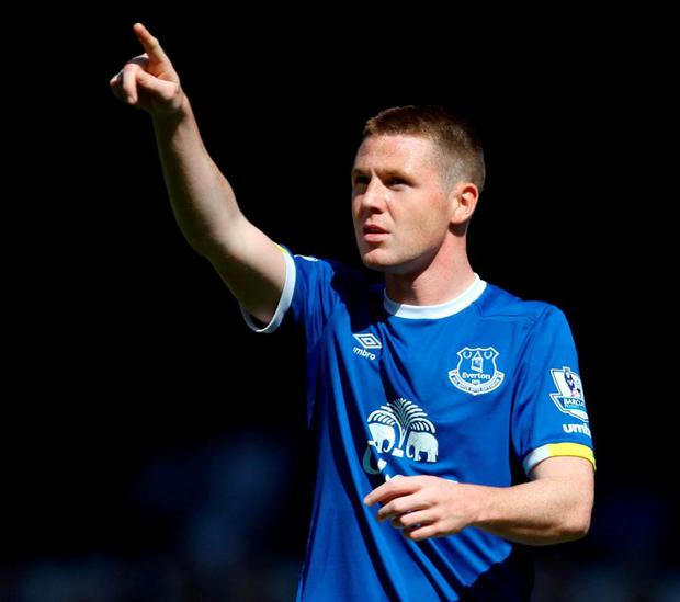 Everton's James McCarthy. Photo: Richard Sellers/PA Wire.