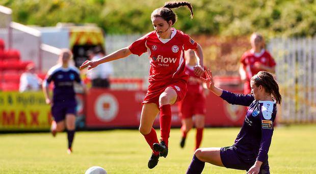 Leanne Kiernan in action Photo: Sportsfile
