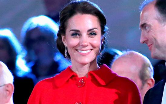 Catherine, Duchess of Cambridge during the final night of the Queen's 90th Birthday Celebrations at Windsor on May 15, 2016 in Windsor, England. (Photo by Chris Jackson/Getty Images)