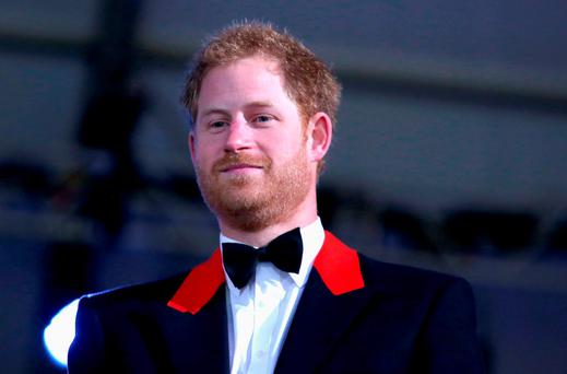 Prince Harry attends the final night of Queen Elizabeth II's 90th Birthday Celebrations at Windsor on May 15, 2016 in Windsor, England. (Photo by Chris Jackson/Getty Images)