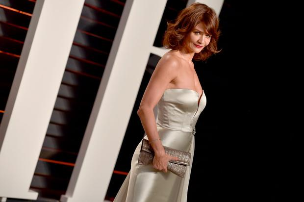 Model Helena Christensen attends the 2016 Vanity Fair Oscar Party Hosted By Graydon Carter at the Wallis Annenberg Center for the Performing Arts on February 28, 2016 in Beverly Hills, California. (Photo by Pascal Le Segretain/Getty Images)