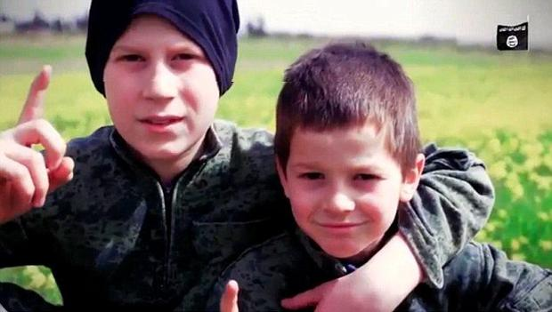 The two youngsters in the video