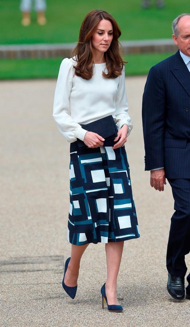 Kate Middleton Mixes High Street With High End At Charity Appearance With Prince William