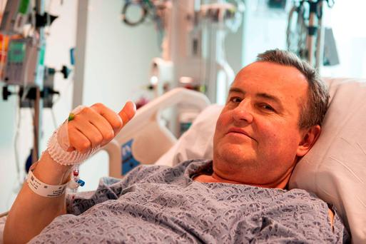 Thomas Manning, the 64-year-old man who lost most of his penis to cancer, who is recovering well after undergoing the United States' first penis transplant operation, doctors said. Photo: AFP/Getty Images