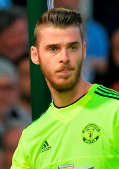 David de Gea could leave Manchester United if Louis van Gaal remains as manager Photo: Glyn Kirk/AFP/Getty Images
