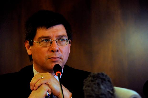 UN envoy on the rights of migrants Francois Crepeau
