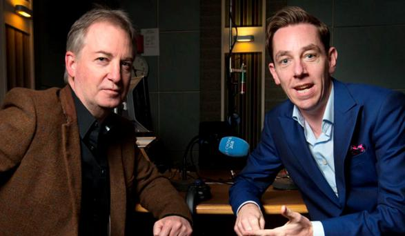 Paul Williams and Ryan Tubridy