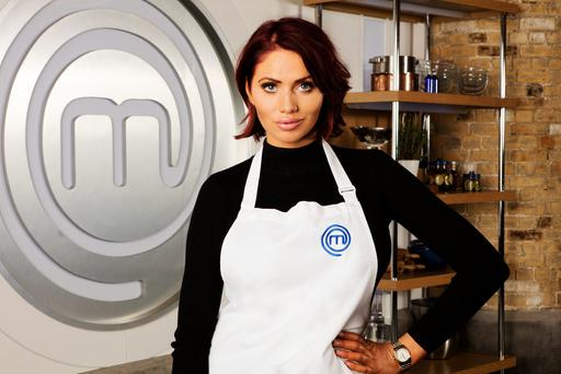 Undated BBC handout photo of Amy Childs from The Only Way Is Essex, who is among the eclectic mix of stars set to turn up the heat on Celebrity MasterChef. Photo credit should read: BBC/PA Wire