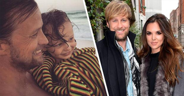 Proud parents Kian Egan and Jodi Albert have shared an adorable video of son Zeke's first steps.
