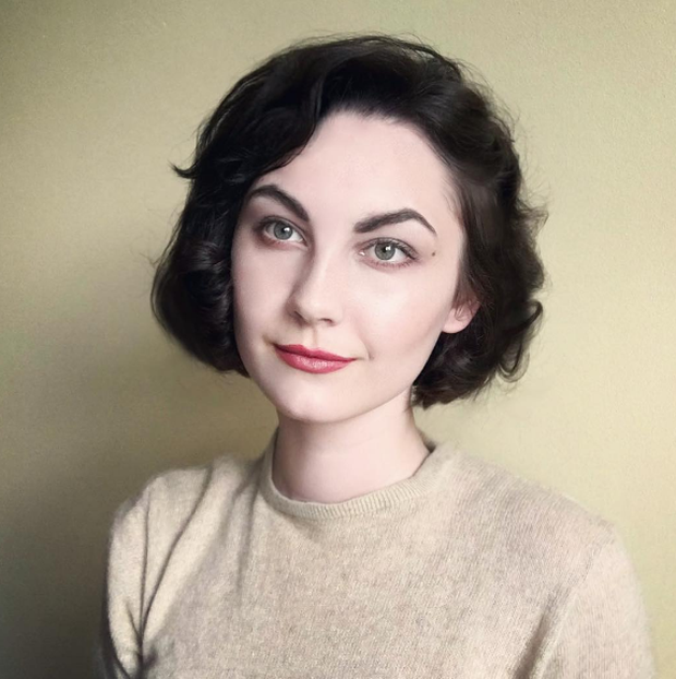 Annelies van Overbeek as Sherilyn Fenn. Photo: bewitchedquills / Instagram