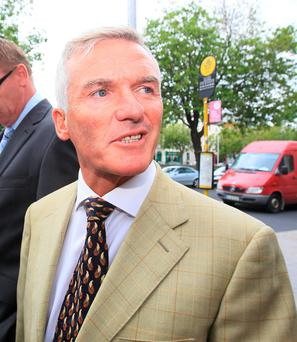 Ivor Callely. Photo: Courts Collins