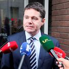 Public Expenditure and Reform Minister Paschal Donohoe. Photo: Collins