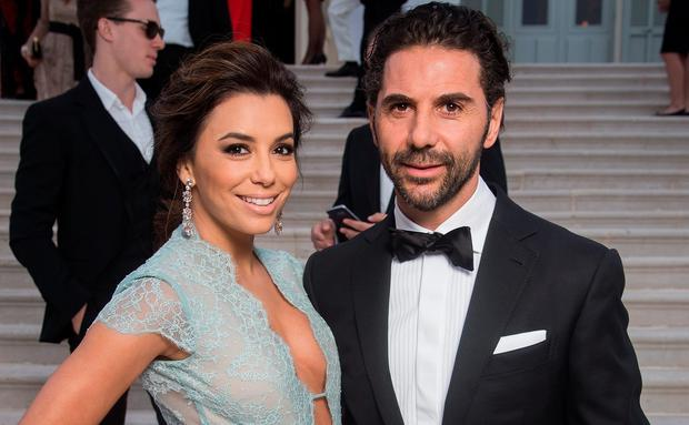 Actress Eva Longoria and Jose Antonio Baston attend amfAR's 22nd Cinema Against AIDS Gala, Presented By Bold Films And Harry Winston at Hotel du Cap-Eden-Roc on May 21, 2015 in Cap d'Antibes, France