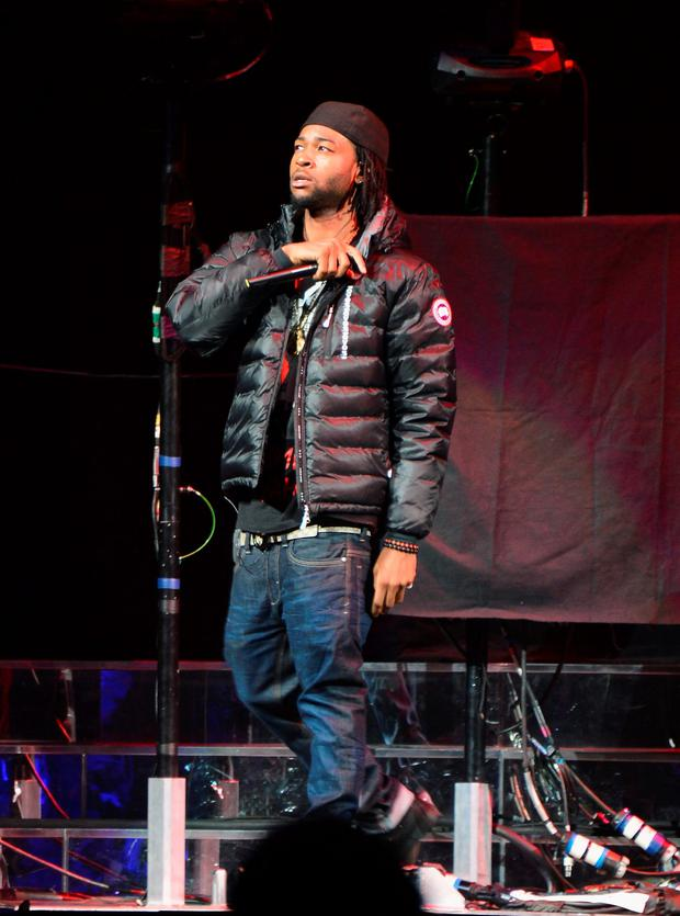 Rapper/singer PartyNextDoor performs at Barclays Center on October 28, 2013 in New York City. (Photo by Stephen Lovekin/Getty Images)